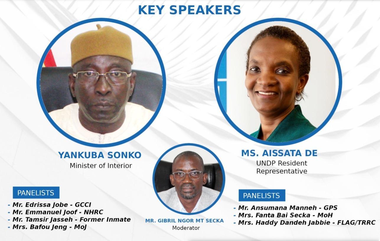Interior UNDP Prisons Speakers