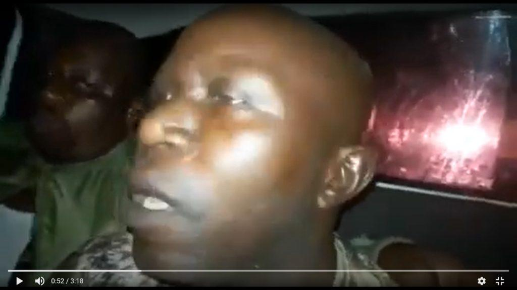 Screenshot Of APRC Supporter Abduction