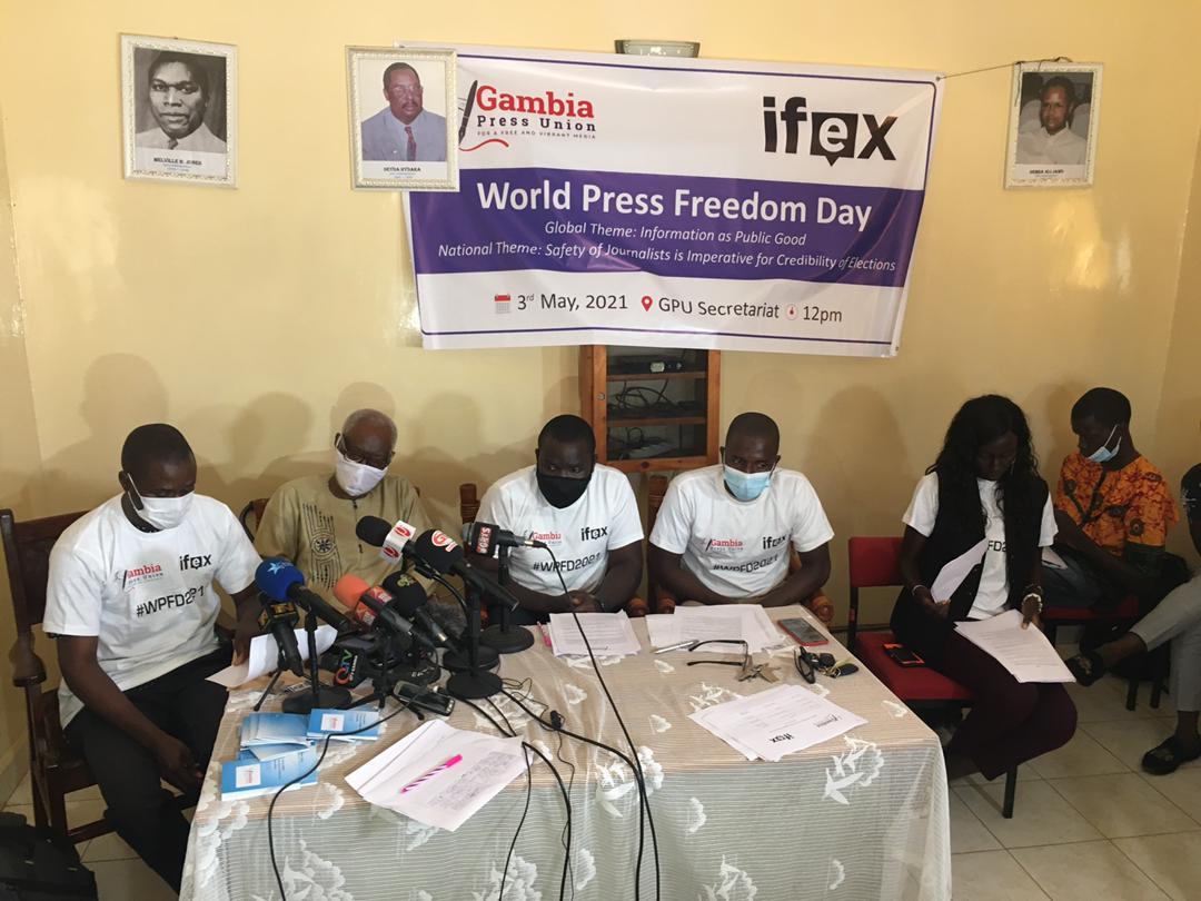 Gambia Press Union 30th World Press Freedom Day 1