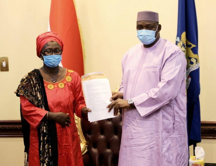 Gender Platform Rep and President Barrow