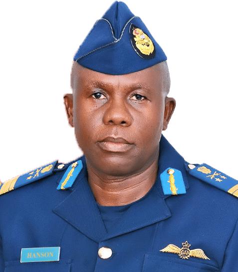AVM Frank Hanson, Chief of Air Staff, Ghana Air Force