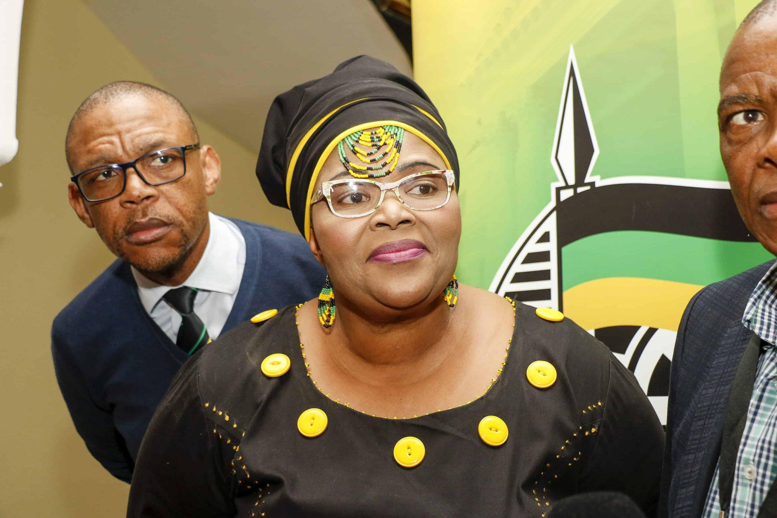 ANC Chief Whip Pemmy Majodin