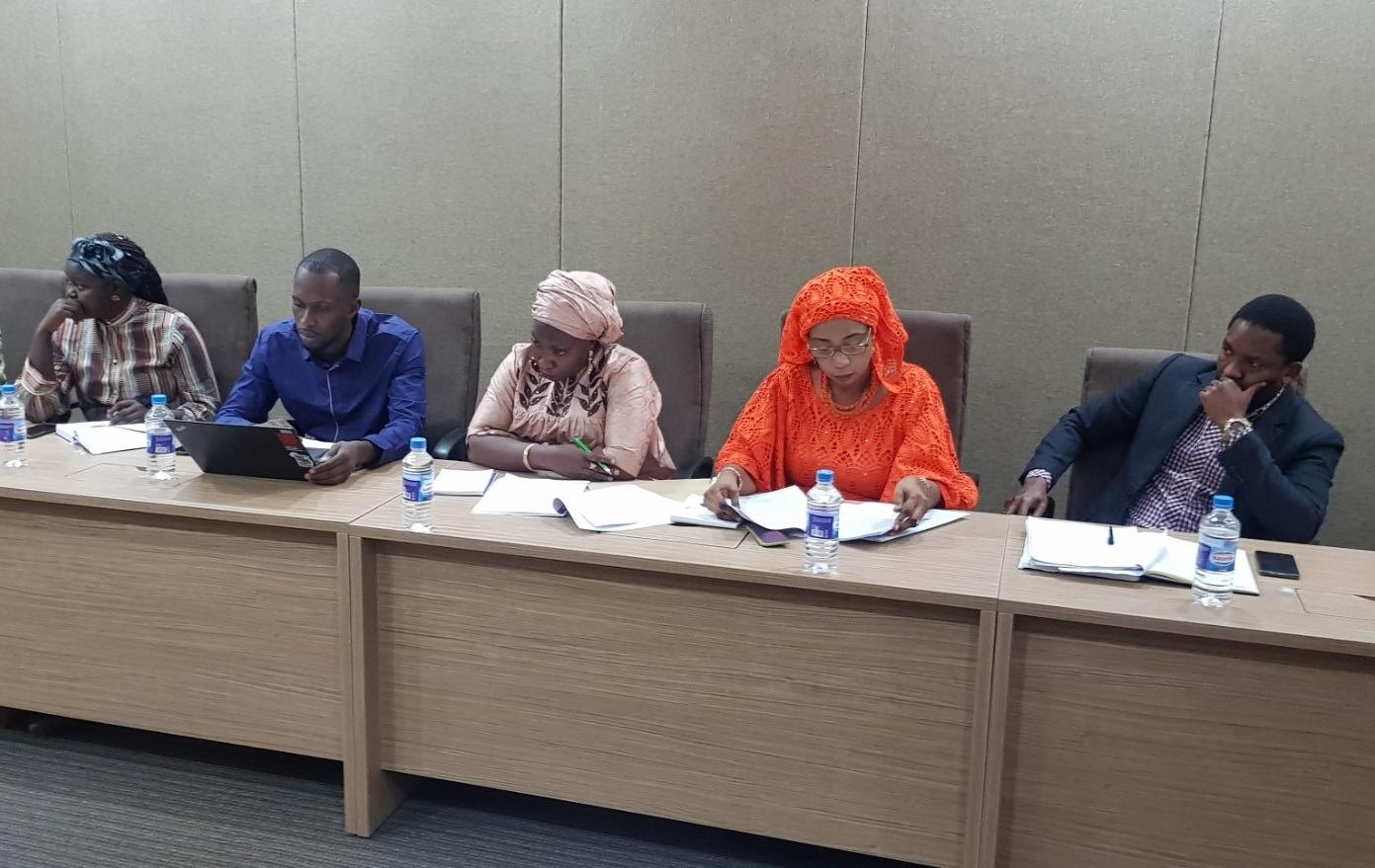 Access to Information Coalition at National Assembly committee (c) Yusef Taylor