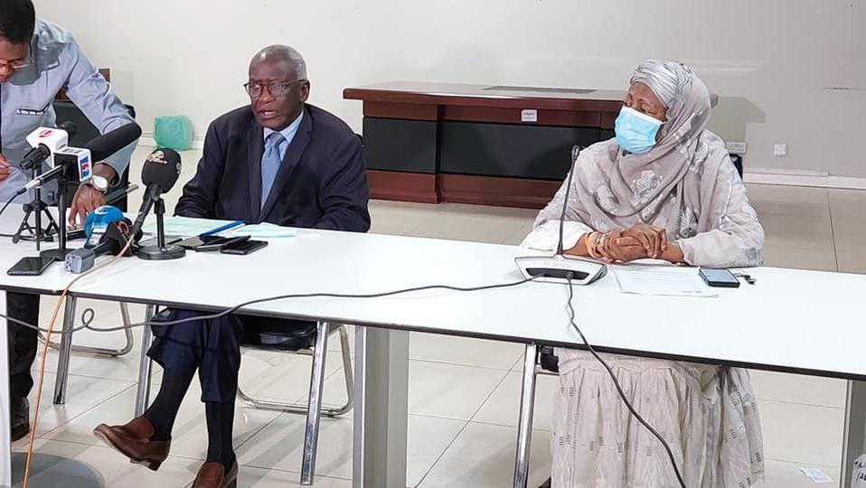 TRRC Chair Dr Sise (L) & Vice-Chair Ms Sosseh (R) Copyright Yusef Taylor