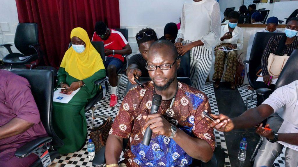 APRC Deputy Spokesperson Mr Dodou Jah (c) Yusef Taylor