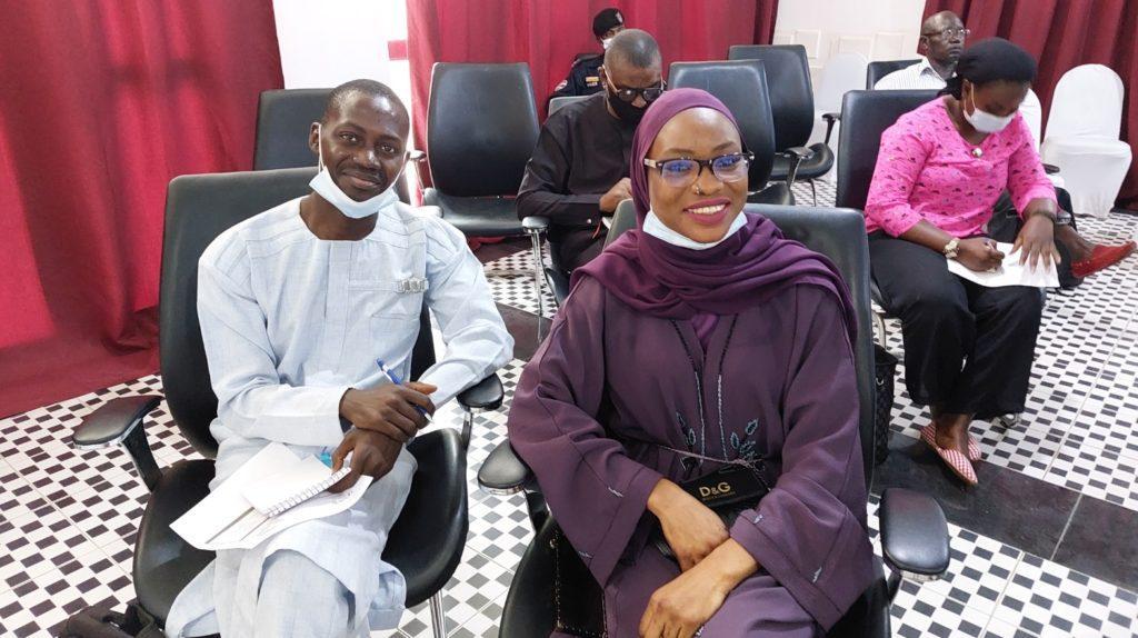 GDC Deputy Leader 2 - Amadou Kah on the left (c) Yusef Taylor